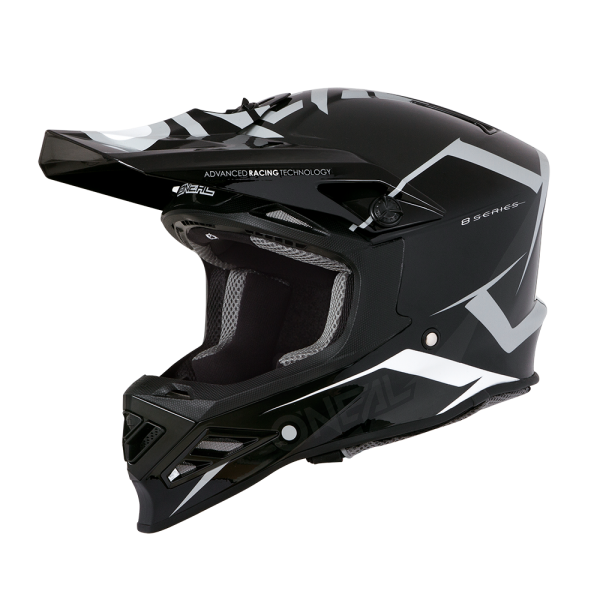 A**8SRS Helmet BLIZZARD (black(gray)