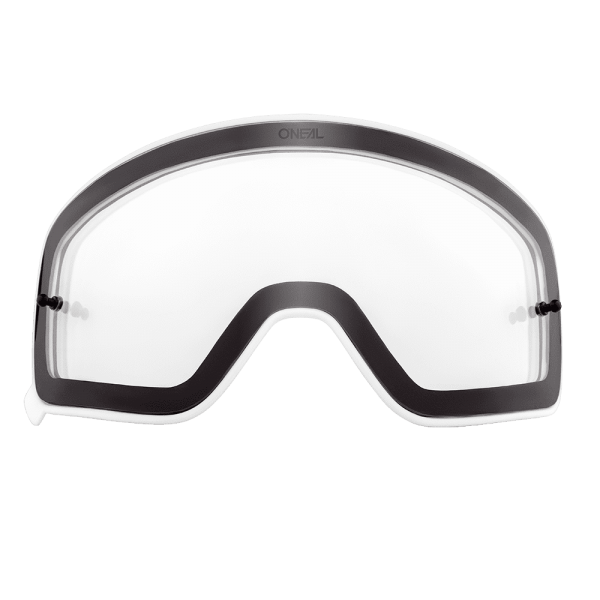 B-50 Google Ersatzglas (klar, weiße Outline)