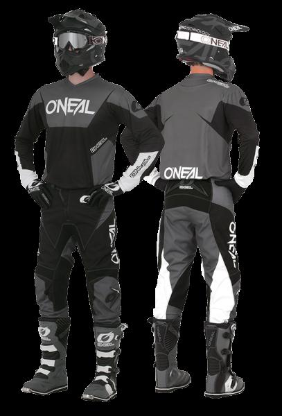 O'Neal ELEMENT Jersey RACEWEAR black/grey
