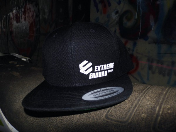 Extreme Enduro Shop Snapback (schwarz schmal)