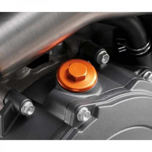 KTM orig Racing Öl-Einfüll Schraube (orange eloxiert)
