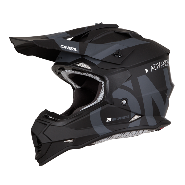 2SRS RL Helmet SLICK black/gray