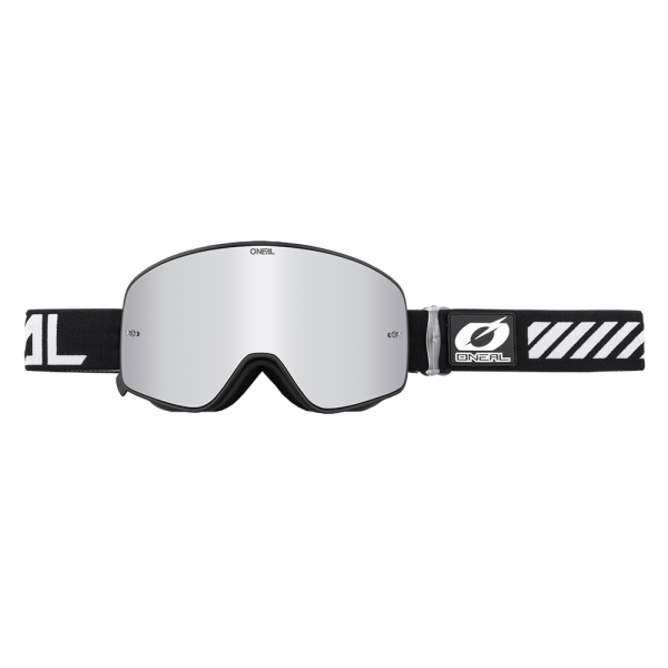 A**B-50 Goggle FORCE (white-silver mirror)