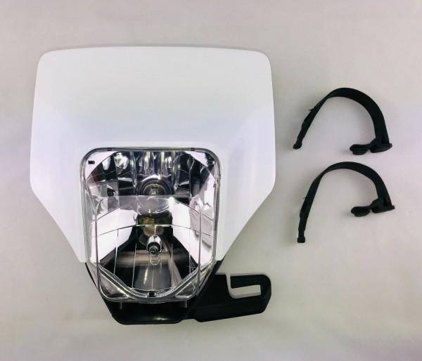 Ersatz Scheinwerfer Husqvarna 17- (H4 Halogen) Lampenmaske