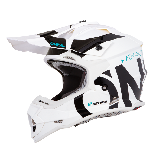 2SRS RL Helmet SLICK white/black